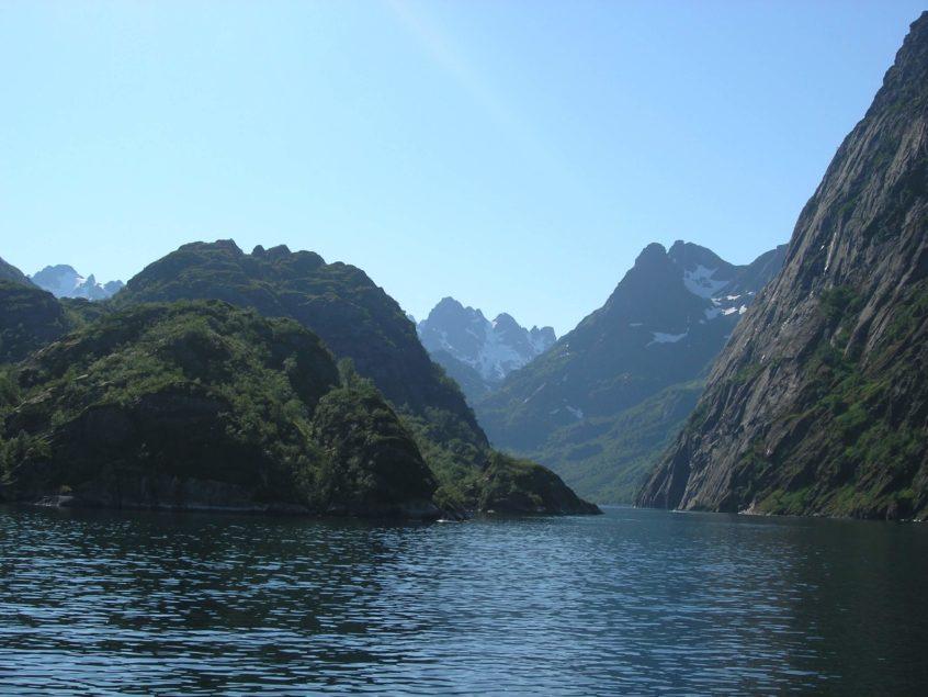 De Trollfjord Noorwegen fjorden Lofoten Vesteralen zeilen vakantie wandelen