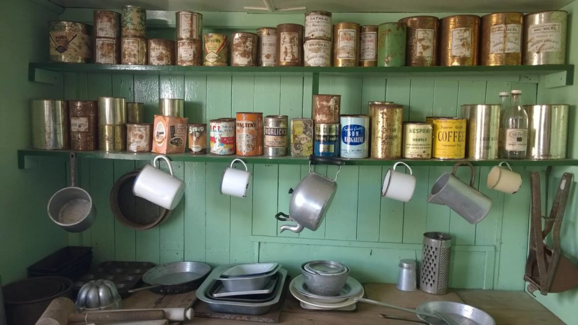 Port Lockroy keuken