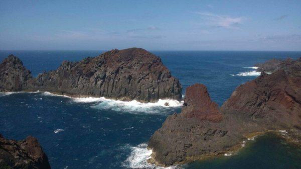 Azoren zeilen vulkanische eilanden