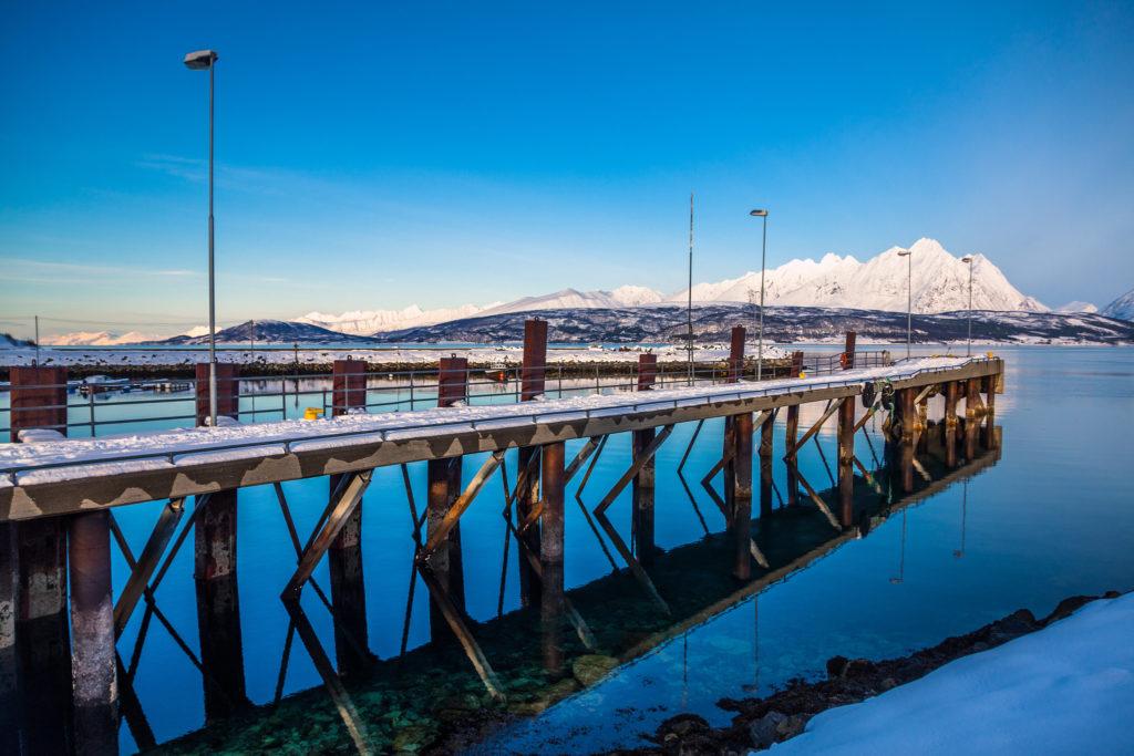 Noorwegen zeilen koude training Lyngen Alps Tromso sailing bergen