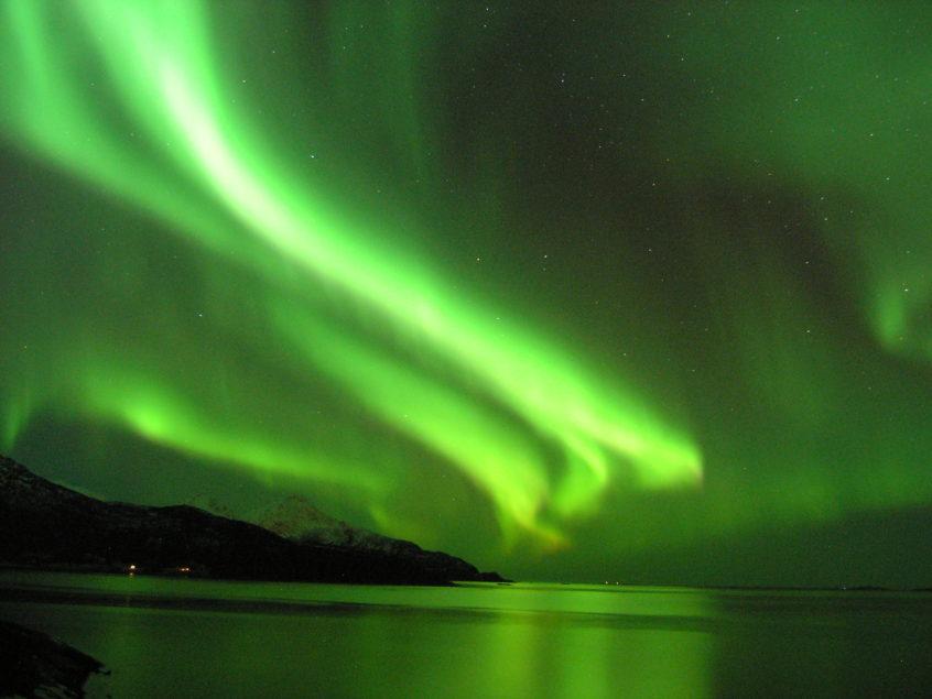 Noorwegen Noorderlicht Aurora Borealis zeilen fotografie Tromso