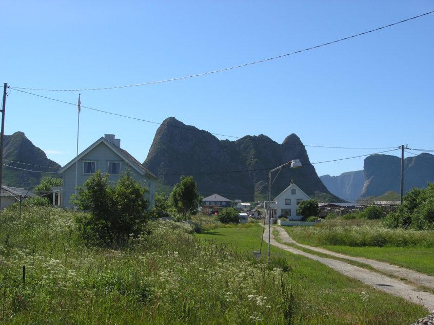 Lofoten bergen Noorwegen zeilvakantie