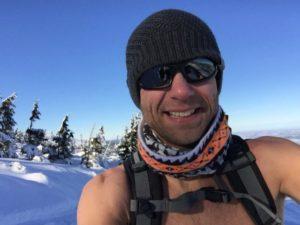 Noorwegen Wim Hof Methode koude training ijsbad zeilexpeditie