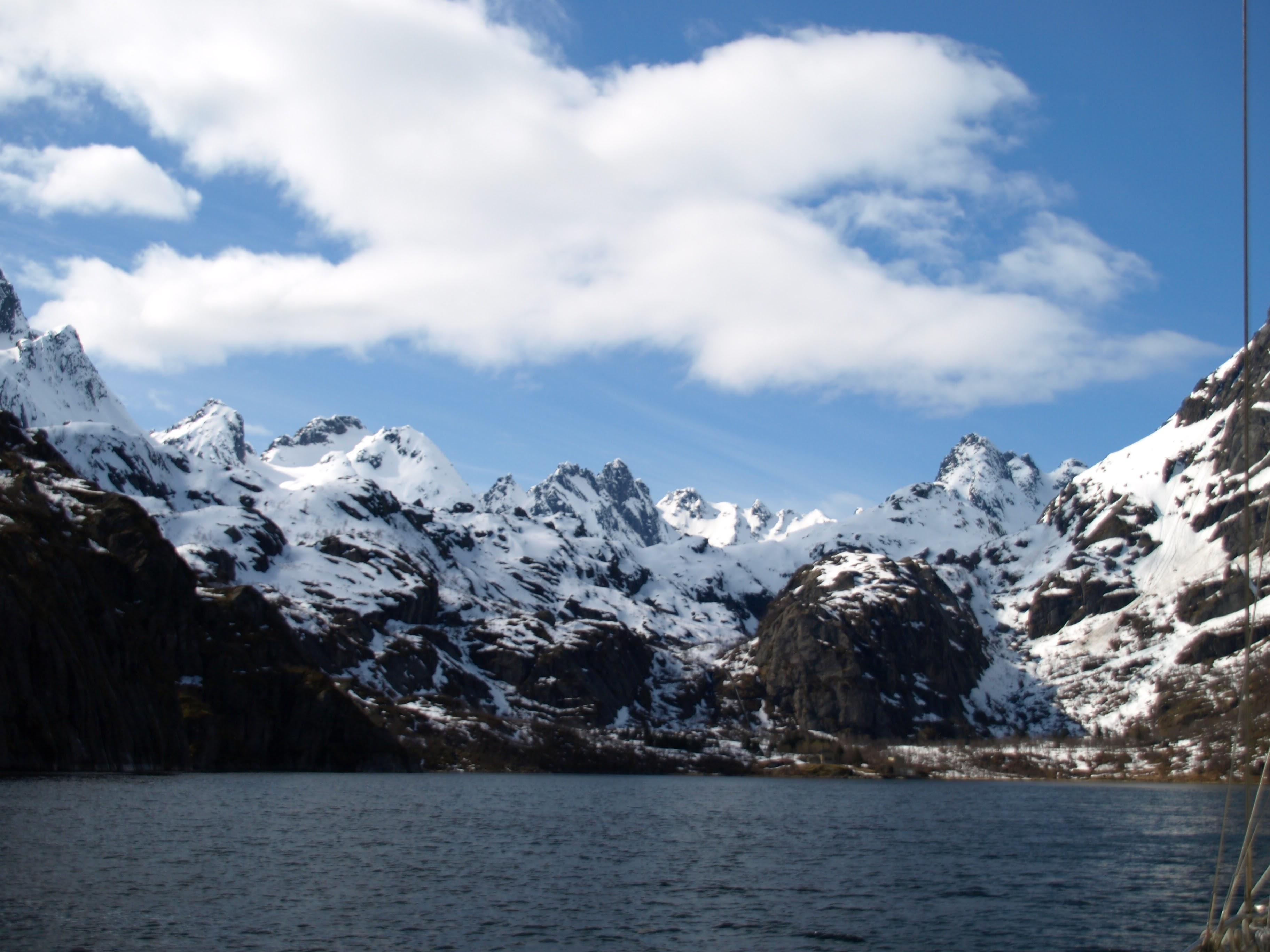 zeilen Noorwegen Lofoten Vesteralen Trollfjord SeaWind sailing norway