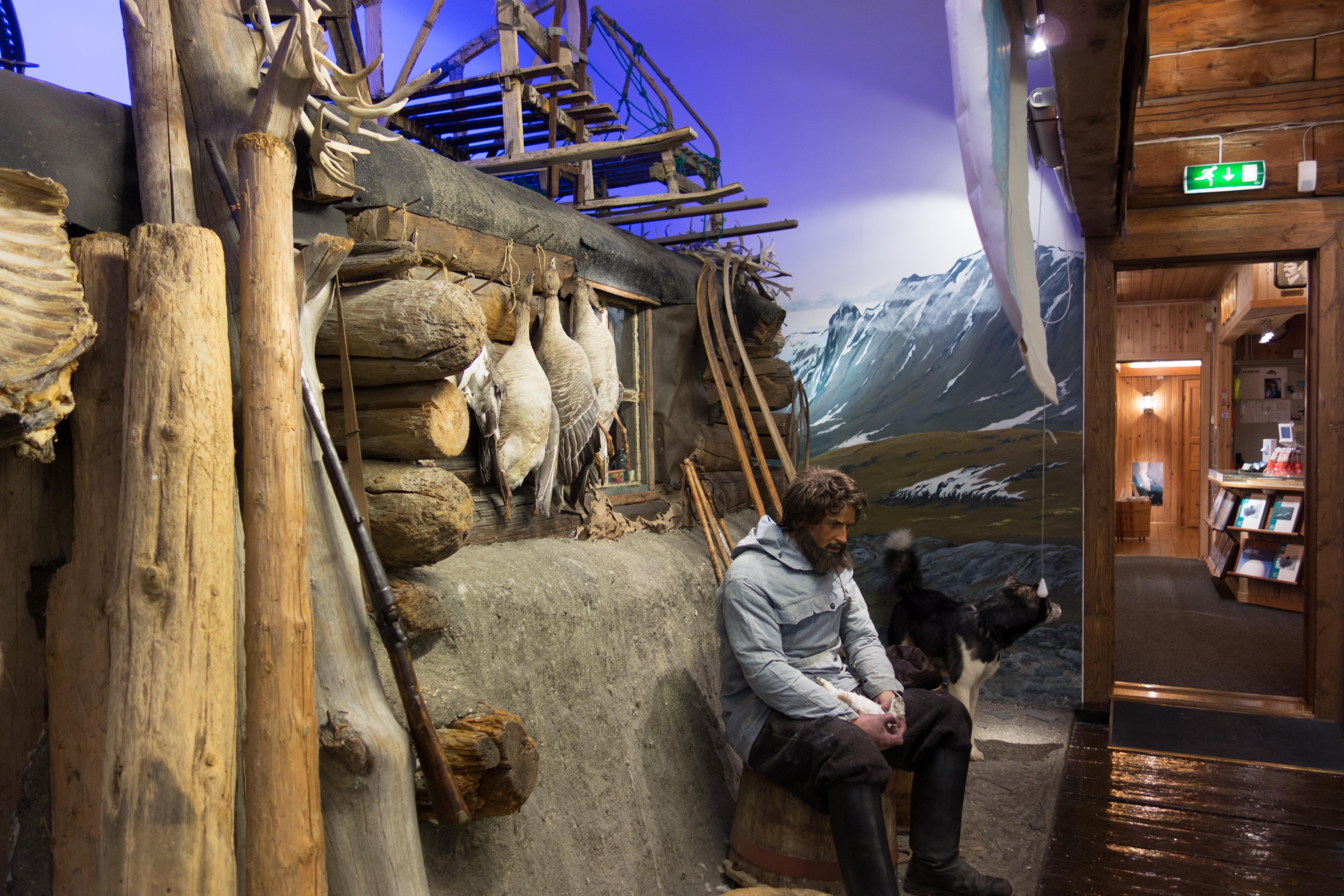 Polar Museum Tromso Noorwegen vakantie rondreis groepsreis Scandinavie SeaWind Adventures zeilen expeditie zeilvakantie ontdekkingsreizigers