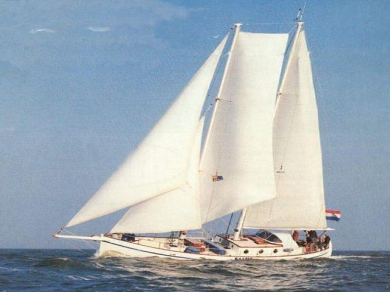 zeilen zeilschip Baltic sailing Colin Archer Marijn en Annet Achterkamp