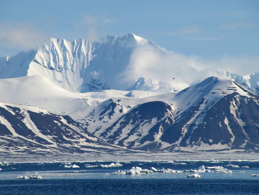 Spitsbergen Svalbard zeilreis zeilen Noorwegen drijfijs SeaWind Adventures