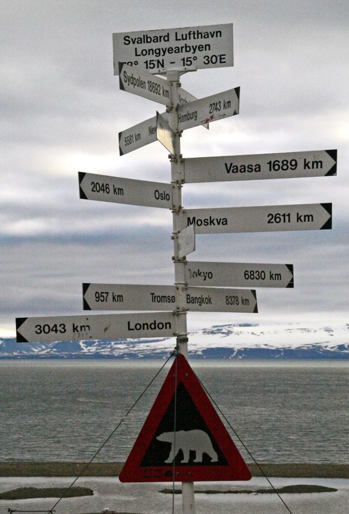 Longyearbyen Spitsbergen Svalbard zeilreis zeilen Noorwegen SeaWind Adventures