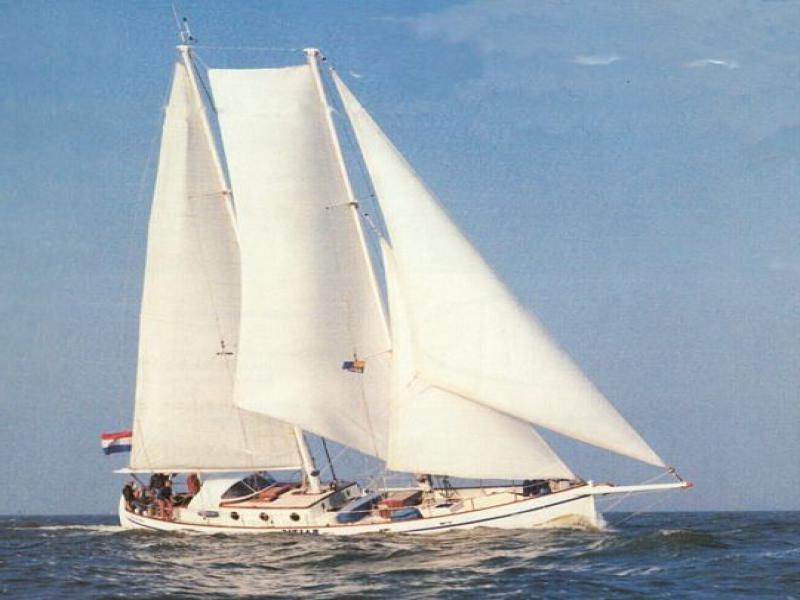 Baltic Colin Archer SeaWind Adventures sailing Norway Lofoten Islands